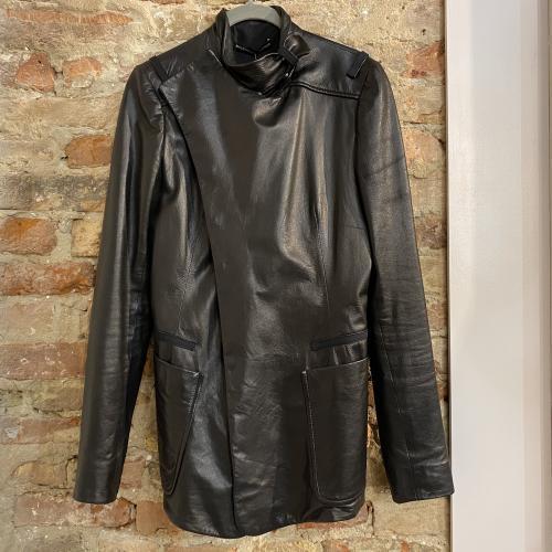 Giacca di pelle Balenciaga.leather