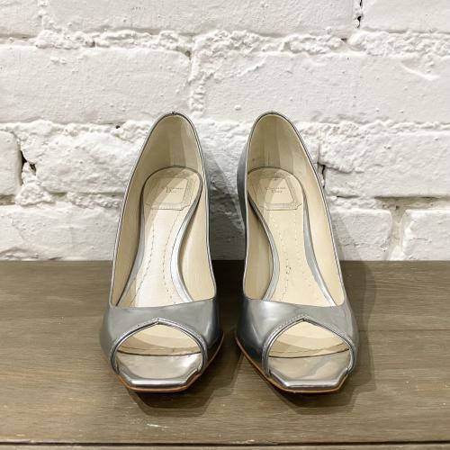 Décolleté Christian Dior argento
